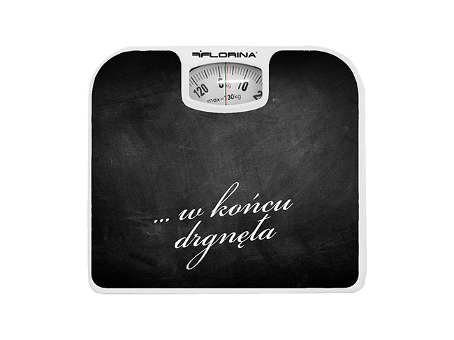 Mechanická osobní váha do 130 kg, Florina