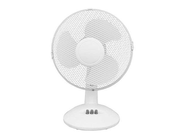 Stolní ventilátor 6482 32W, 23 cm, bílá