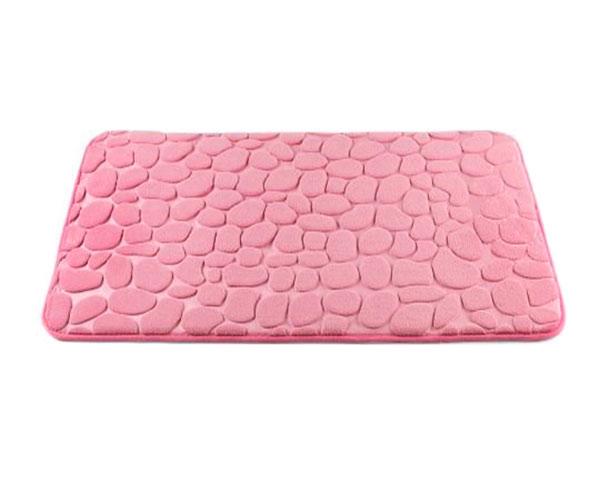 Koupelnová předložka Oblázky 50 x 80 cm, růžová