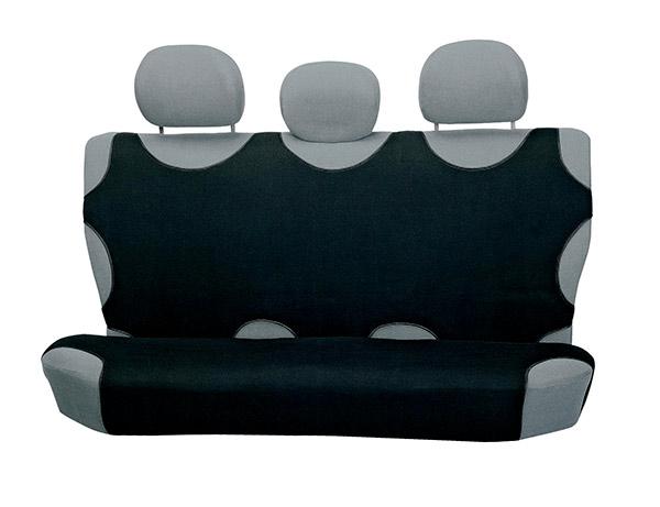 Univerzální potahy na 3 zadní sedadla do auta Tričko, černá