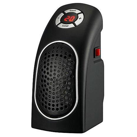 Přenosný ohřívač vzduchu přímo do zásuvky W88A, Mini, 400W