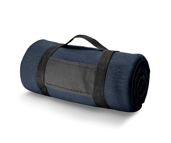 Pikniková cestovní deka PAT 150 x 120 cm, modrá