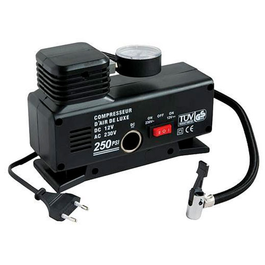 Kompresor Aircom 250 psi - 18 bar, 230 V/12 V