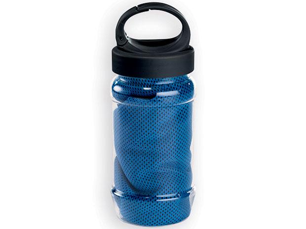 Chladivý ručník 30 x 80 cm, modrý