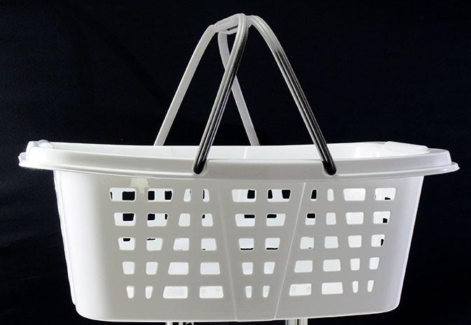 Koš na čisté prádlo cover line 26 l 57x41x21 cm
