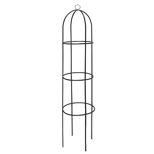 Obelisk na popínavé rostliny 0565 kovový 188 cm