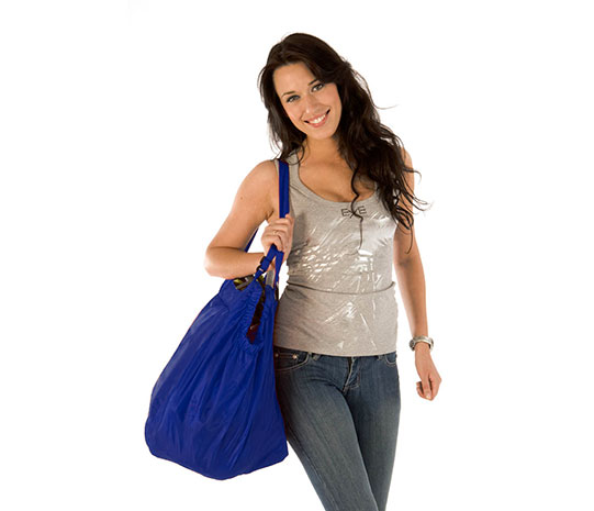 ARIEN  - nákupní taška do vozíku modrá