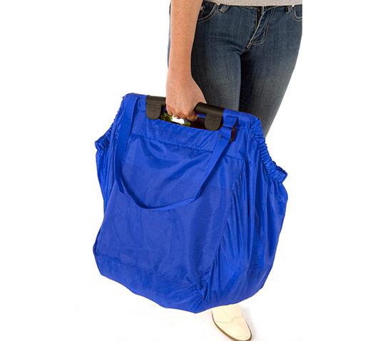 Taška do nákupního vozíku Basic 70 l, Aurora, modrá