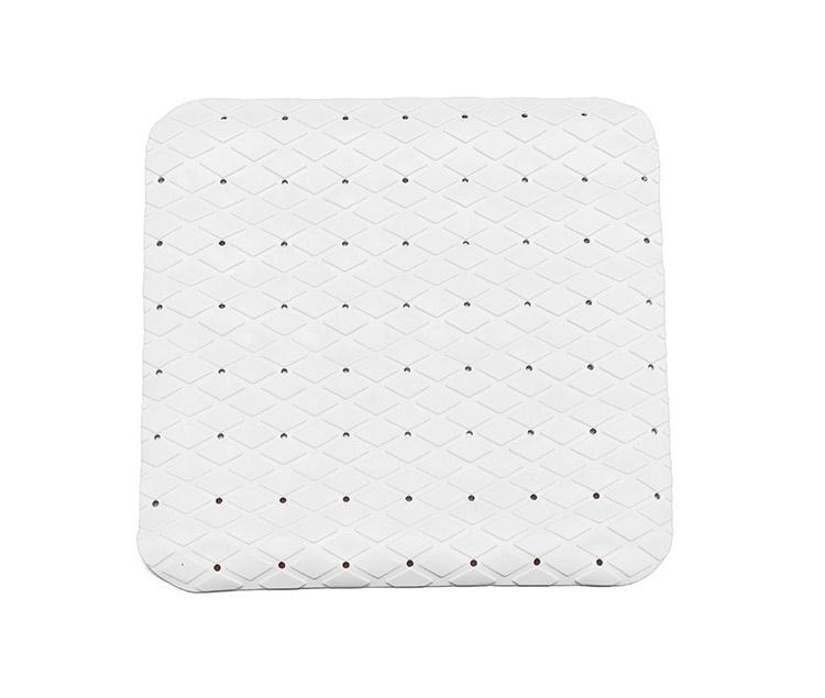 Rohož protiskluzová do sprchy 54 x 54 cm bílá - podložky, Duramat