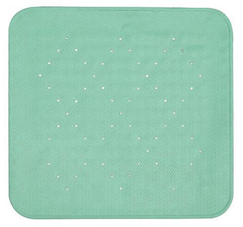 Rohož protiskluzová do sprchy 54 x 54 cm zelená, Duramat