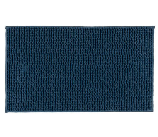 Koupelnová předložka CHENILL 50 x 80 cm, modrá