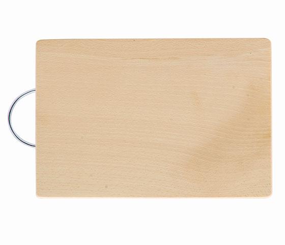 Kuchyňské prkénko dřevěné Shark 24 x 16 x 1,5 cm