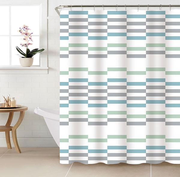 Koupelnový závěs PES - Lívia 180 x 180 cm