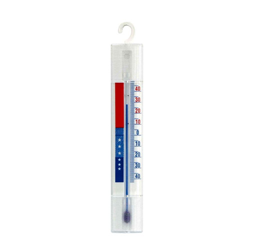 Teploměr do chladničky a mrazáku na zavěšení -40°C - +40°C, plast