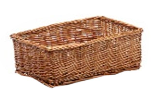 Proutěná zásuvka Košík I, 30 x 20 x 11 cm