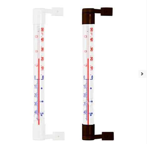 Venkovní teploměr na zeď -50 °C až +50 °C, 21 cm