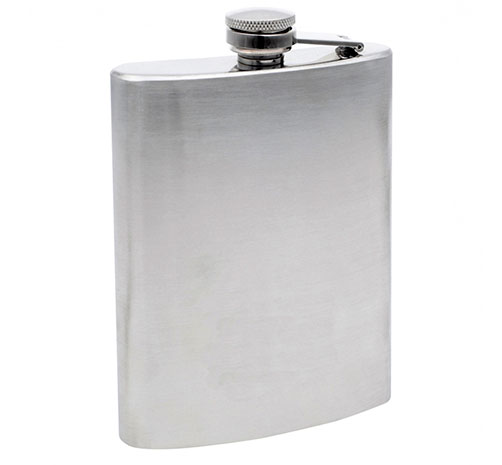 Nerezová placatka na alkohol 240 ml