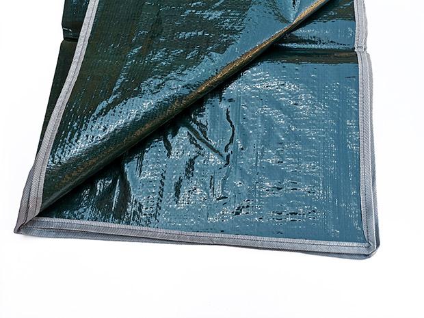 Ochranná plachta do kufru auta 6961, PE gramáž 130 g/m2, 140 x 140 cm, zelená