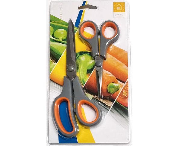 Nůžky do domácnosti 1854 21 a 14 cm, sada 2ks