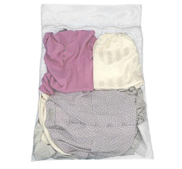 Sáček na praní záclon 60 x 90 cm, bílá