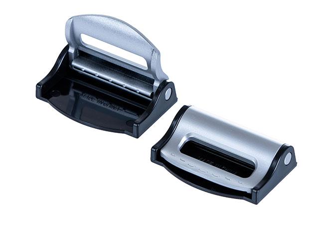 Zarážka bezpečnostního pásu 6406, 2 ks, stříbrná