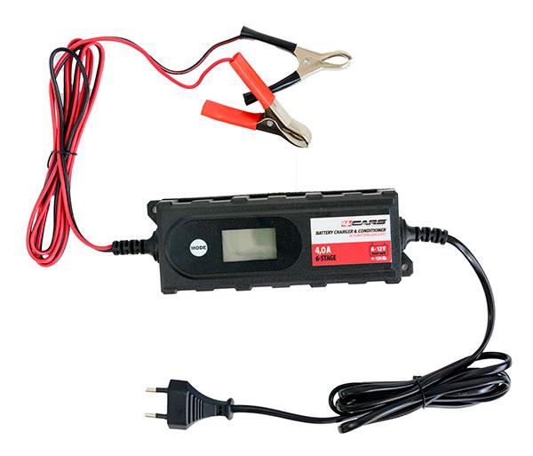 95514 Inteligentní auto nabíječka autobaterií 6/12V, 6-stupňová, max 4,2A
