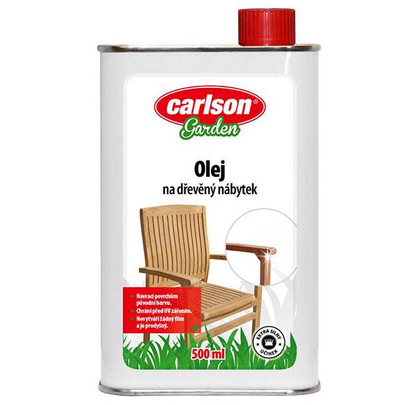 Impregnační a ochranný olej na zahradní nábytek 500 ml