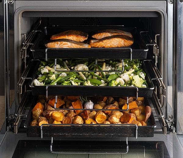 Stohovatelná teflonová podložka na pečení v troubě 6976 31x42x7 cm