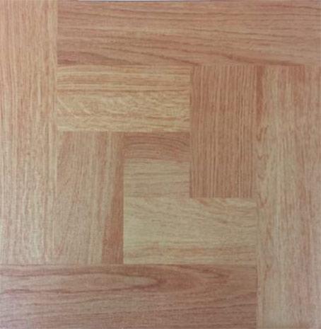 Samolepící podlahové čtverce DF 0006 pvc 30,4 x 30,4 cm, parketa buk