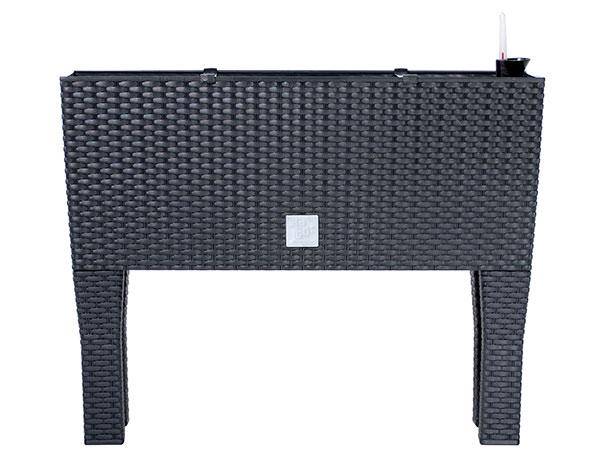 Samozavlažovací truhlík RATO CASE HIGH 60 x 25 x 46 cm, ratan antracit