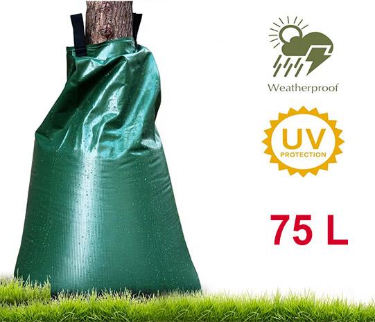 Zavlažovací vak ke stromu 6917 objem 75 l, zelená