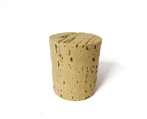 Korková zátka Natural 48 mm, průměr 43/35 mm, celokorková