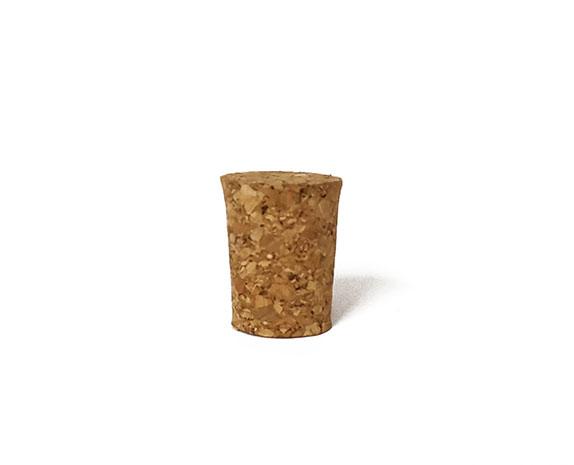 Korkový špunt 27 mm, průměr 20/17 mm