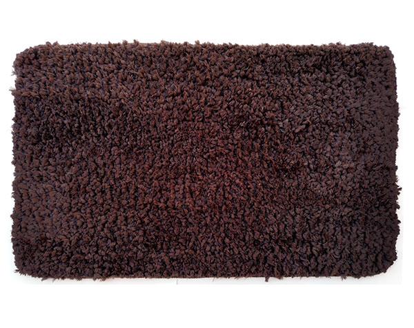 Předložka do koupelny Nuvola protismyková 50 x 80 cm, hnědá