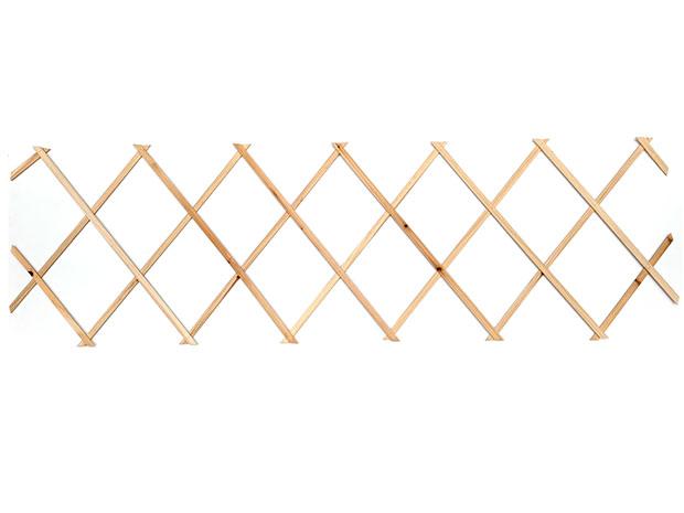 Zahradní dřevěná mřížka / plot 3558 na popínavé rostliny 60 x 180 cm, přírodní