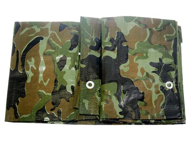 Plachta zakrývací maskovací - 2 x 3 m