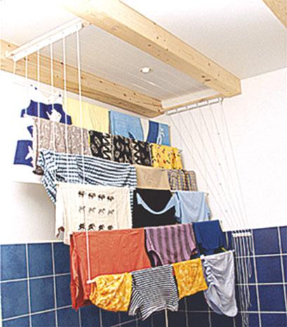 Stropní sušák na prádlo IDEAL 190 x 52 cm