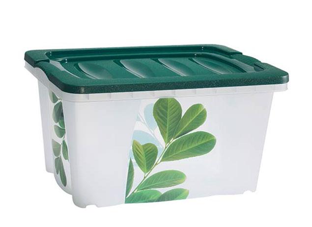 Plastový box s víkem 43 x 33 x 24 cm, 20 l