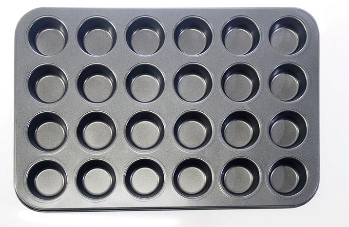 Plech na mini muffiny 24 ks, 38 x 26 cm