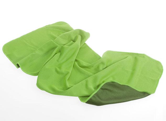 Chladivý ručník 30 x 80 cm, zelený
