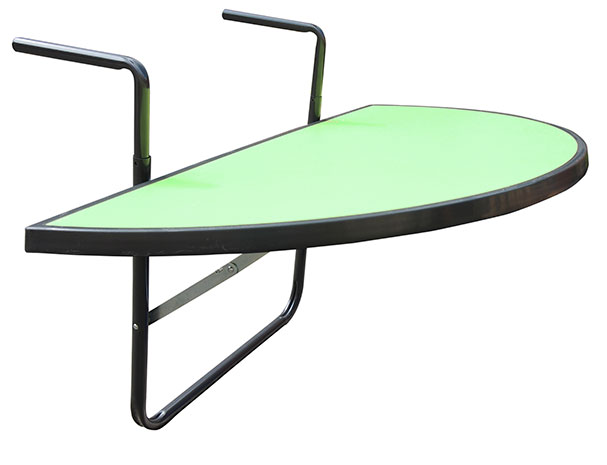 Závěsný balkonový stolek na zábradlí Fortel, 100 x 50 cm