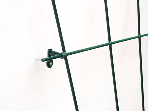 Ocelová mřížka na popínave rostliny 3555, 75 x 145  cm