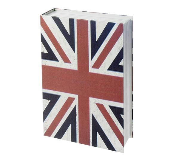 Trezor jako kniha Sejf 6621 240 x 155 x 55 mm, motiv Vlajka