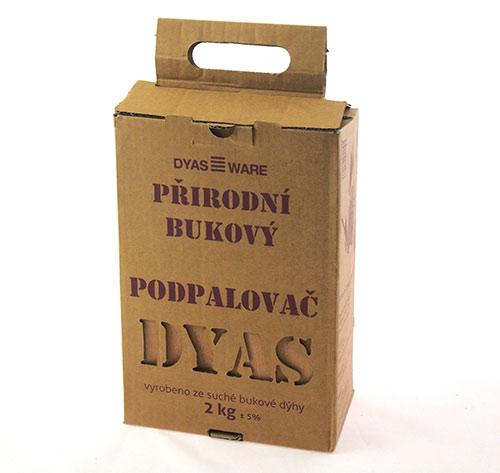 Ekologický pevný podpalovač Adodo 8594, 50 ks, 2 kg, Dyas