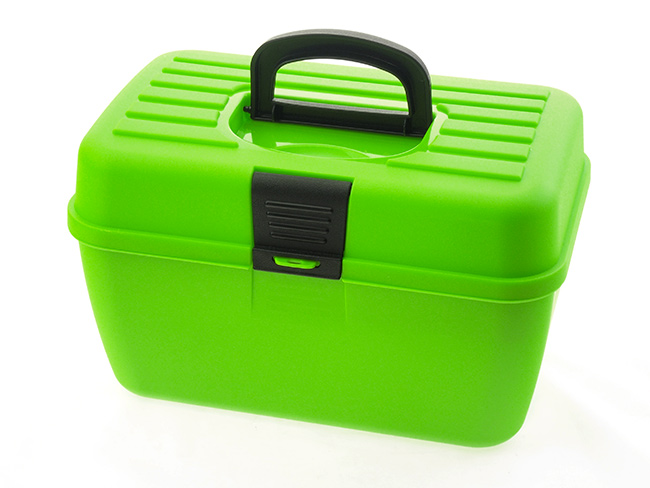 Box na šití s organizérem Adodo 10652, 29x19x18 cm, Fortel