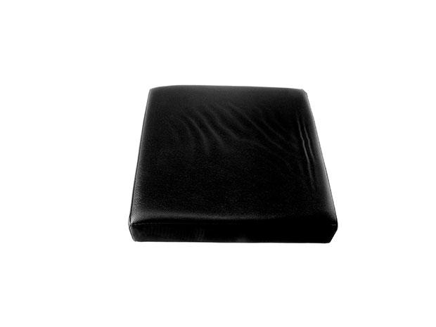 Skládací taburet s úložným prostorem Ado 6536 38x38x38 cm, černá