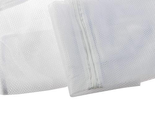 Síťka na prádlo do pračky se zipem 6496 3ks, 40x25cm, 70x50cm, 60x90cm