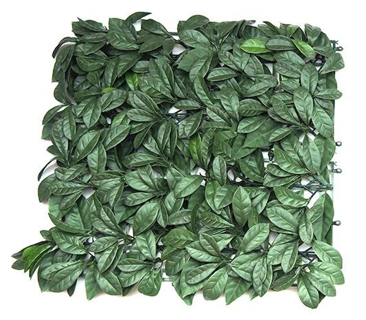 Zástěna na balkon 6545 Listy 0,5 x 0,5 m, zelená