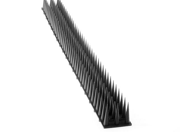 Hroty proti ptákům 6632 plastové 50 x 4,5 cm, černé