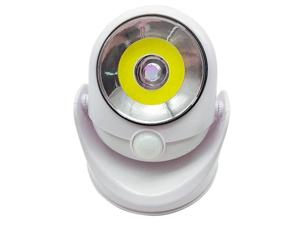 LED světlo 3W s pohybovým čidlem na baterie 3545